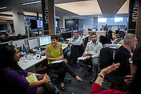 NITV Australian National Indigenous Television Story. Ryan speaks with production team before his days assignment.
