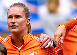 07-07-2019 FRA: Final USA - Netherlands, Lyon<br /> FIFA Women's World Cup France final match between United States of America and Netherlands at Parc Olympique Lyonnais. USA won 2-0 / Desiree van Lunteren #2 of the Netherlands