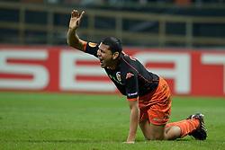 18-03-2010 VOETBAL: WERDER BREMEN - FC VALENCIA: BREMEN<br /> UEFA Europa League -  Hedwiges Maduro ( Valencia #03 )<br /> ©2010- FRH-nph / Kokenge<br /> <br /> Auf Anfrage in hoeherer Qualitaet/Aufloesung