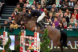 THIEME Andre (GER), Cuperino<br /> Leipzig - Partner Pferd 2019<br /> Longines FEI Jumping World Cup<br /> Qualifikation CSI-W<br /> 18. Januar 2019<br /> © www.sportfotos-lafrentz.de/Stefan Lafrentz