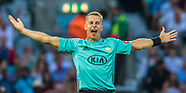 27 Jul 2018 - Surrey v Somerset in the Vitality T20 Blast cricket match at the Kia Oval.