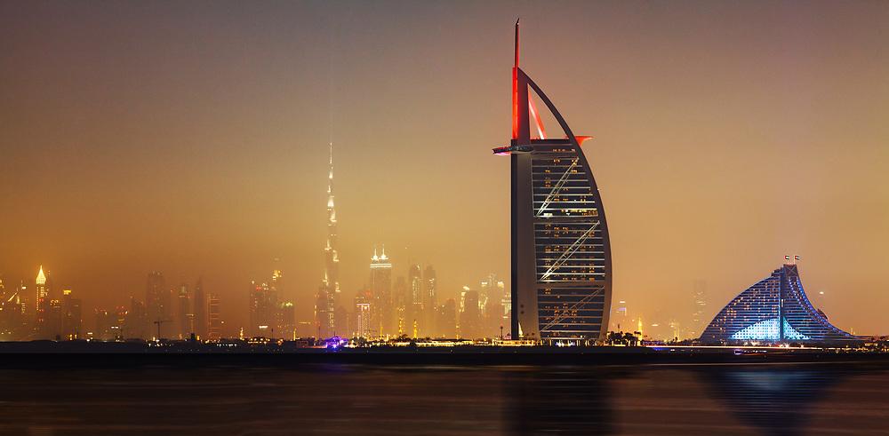 Burj Al Arab panorama