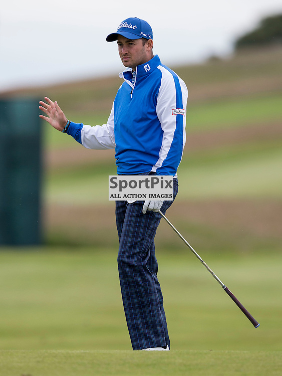 Aberdeen Asset Management Scottish Open 2015<br /> <br /> Daniel BROOKS in action during day 3 of the Aberdeen Asset Management Scottish Open played at Gullane Golf Course on 9-12 July 2015<br /> <br /> Picture: Alan Rennie