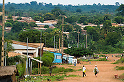 View of Dimbokro, Cote d'Ivoire on Friday June 19, 2009.