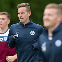 St Johnstone Training....24.07.15<br /> Steven MacLean pictured during the run in training this morning<br /> Picture by Graeme Hart.<br /> Copyright Perthshire Picture Agency<br /> Tel: 01738 623350  Mobile: 07990 594431