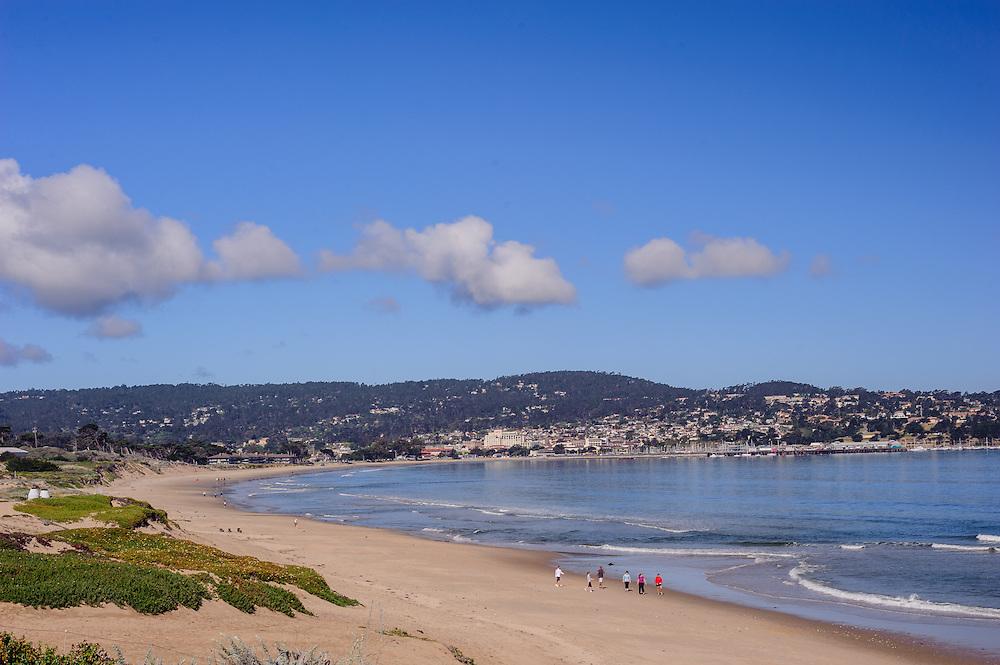 Monterey, California, Monterey State Beach, Coast