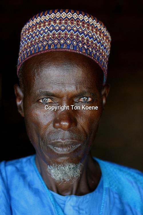 Portrait of a Nigerian man