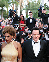 Macy Gray, John Cusack,  at The Paperboy gala screening red carpet at the 65th Cannes Film Festival France. Thursday 24th May 2012 in Cannes Film Festival, France.