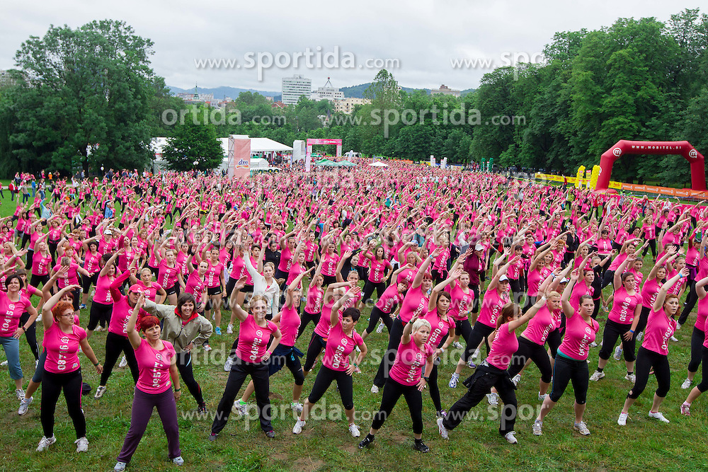 7th DM 5 km and 10 km Women's marathon, on June 2, 2012 in Tivoli, Ljubljana, Slovenia. (Photo by Vid Ponikvar / Sportida.com)