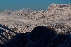 22.01.2011, Tofana, Cortina d Ampezzo, ITA, FIS World Cup Ski Alpin, Lady, Cortina, Abfahrt, im Bild der Grossglocker (3798m) von der Tofana aus gesehen during FIS Ski Worldcup ladies Downhill at pista Tofana in Cortina d Ampezzo, Italy on 22/1/2011. EXPA Pictures © 2011, PhotoCredit: EXPA/ J. Groder