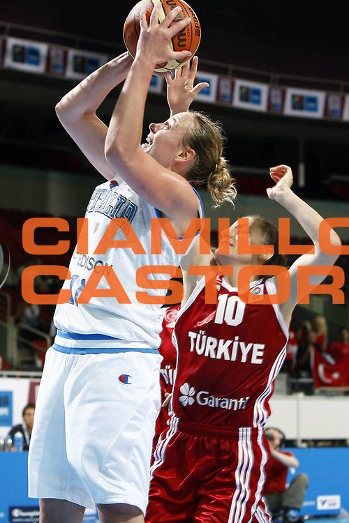 DESCRIZIONE : Riga Latvia Lettonia Eurobasket Women 2009 Qualifying Round Italia Turchia Italy Turkey<br /> GIOCATORE : Kathrin Ress<br /> SQUADRA : Italia Italy<br /> EVENTO : Eurobasket Women 2009 Campionati Europei Donne 2009 <br /> GARA : Italia Turchia Italy Turkey<br /> DATA : 12/06/2009 <br /> CATEGORIA : tiro<br /> SPORT : Pallacanestro <br /> AUTORE : Agenzia Ciamillo-Castoria/E.Castoria<br /> Galleria : Eurobasket Women 2009 <br /> Fotonotizia : Riga Latvia Lettonia Eurobasket Women 2009 Qualifying Round Italia Turchia Italy Turkey<br /> Predefinita :