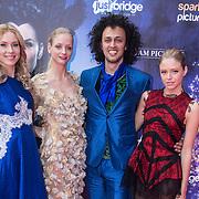NLD/Ede/20140615 - Premiere film Heksen bestaan niet, Sepehr Maghsoudi en modellen Lisanne de Rooij en Shanice Be