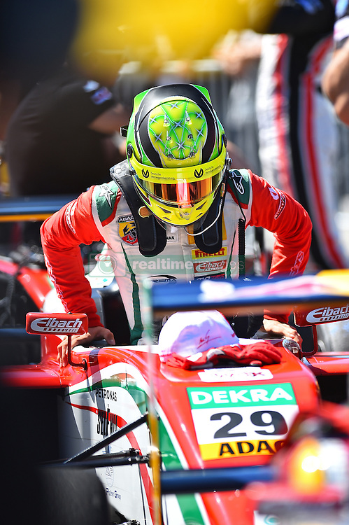2. Platz beim zweiten Sonntagsrennen: Mick Schumacher beim Formel 4 Rennen auf dem N&uuml;rburgring / 070816<br /> <br /> *** ADAC Formula Four championship at Nurburgring on August 7, 2016 in Nurburg, Germany ***
