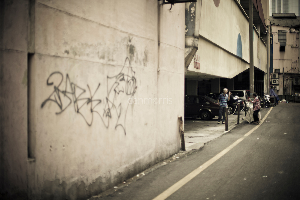 Alley discussion,  Kuala Lumpur