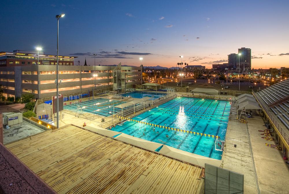 Mona Plummer Aquatic Center, Arizona State University, Tempe, Arizona
