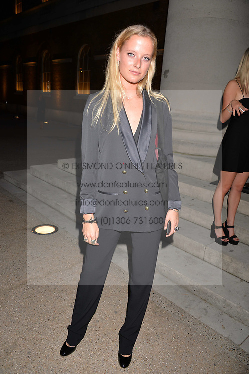Emily Steel at the Tatler's English Roses 2017 party in association with Michael Kors held at the Saatchi Gallery, London England. 29 June 2017.<br /> Photo by Dominic O'Neill/SilverHub 0203 174 1069 sales@silverhubmedia.com