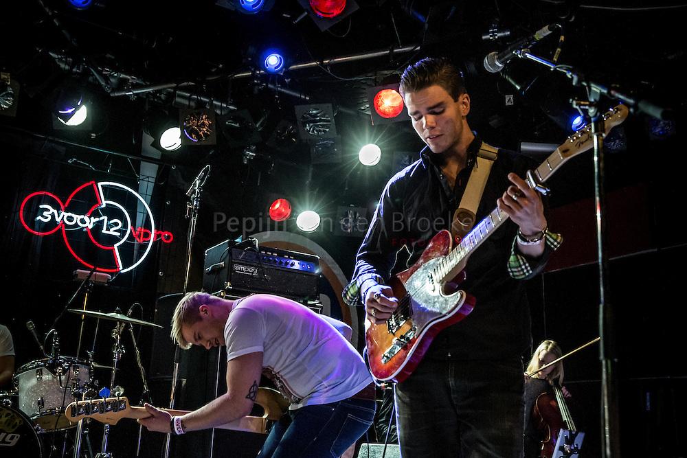 Nederland, Groningen 20150114. Kaleo in Vera tijdens Eurosonic. foto: Pepijn van den Broeke
