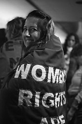 Interviews and Photography before and during the Women's March on D.C.