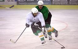 Ralph Intranuovo at second ice hockey practice of HDD Tilia Olimpija on ice in the new season 2008/2009, on August 19, 2008 in Hala Tivoli, Ljubljana, Slovenia. (Photo by Vid Ponikvar / Sportal Images)