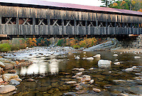 Albany Covered Bridge White Mountains New Hampshire USA