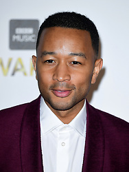 John Legend attending the BBC Music Awards at the Royal Victoria Dock, London. PRESS ASSOCIATION Photo. Picture date: Monday 12th December, 2016. See PA Story SHOWBIZ Music. Photo credit should read: Ian West/PA Wire