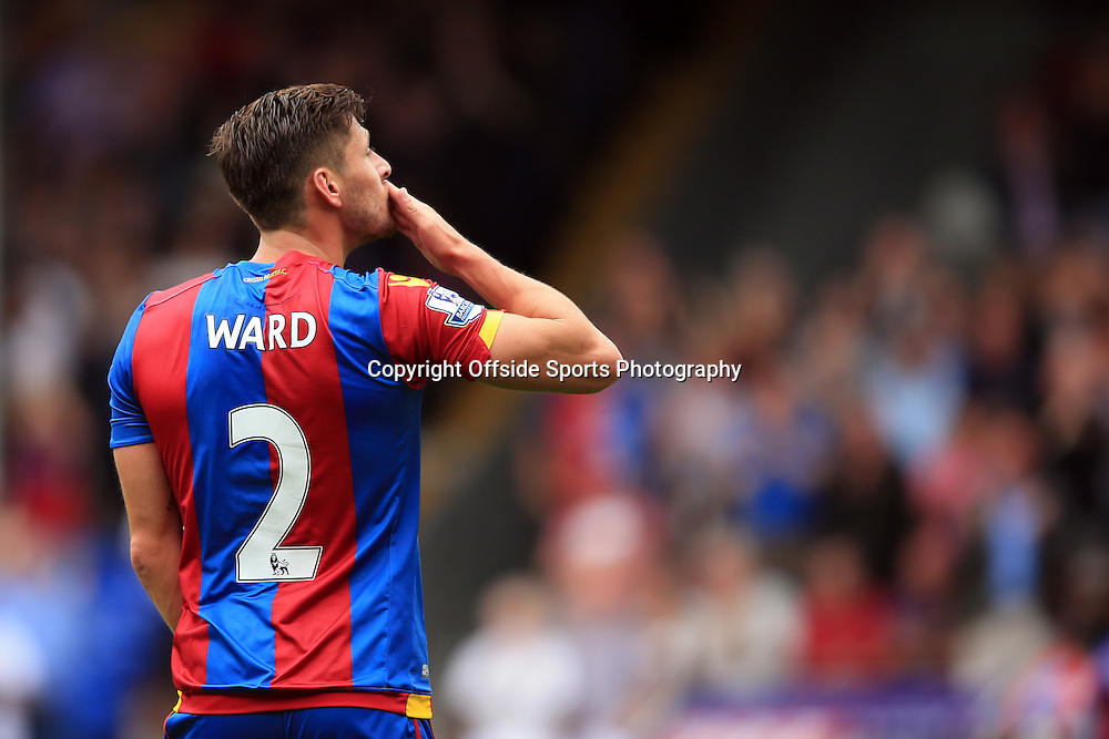16 August 2015 - Barclays Premier League - Crystal Palace v Arsenal - Joel Ward of Crystal Palace celebrates scoring the equalising goal - Photo: Marc Atkins / Offside.