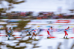 21.02.2019, Langlauf Arena, Seefeld, AUT, FIS Weltmeisterschaften Ski Nordisch, Seefeld 2019, Langlauf, Herren, Sprint, im Bild Sergey Ustiugov (RUS) // Sergey Ustiugov of Russian Federation during the men's Sprint competition of the FIS Nordic Ski World Championships 2019. Langlauf Arena in Seefeld, Austria on 2019/02/21. EXPA Pictures © 2019, PhotoCredit: EXPA/ Dominik Angerer
