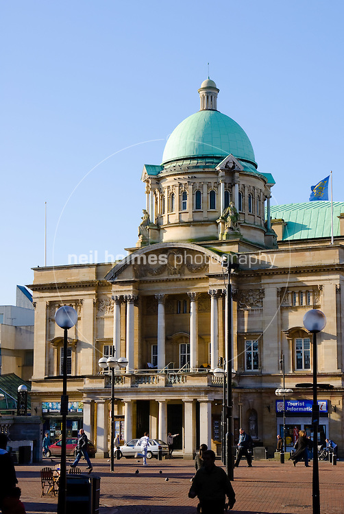 Kingston upon Hull City Hall Queen Victoria Square