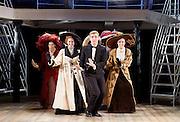 Titanic <br /> at The Charing Cross Theatre, London, Great Britain <br /> press photocall <br /> 3rd June 2016 <br /> <br /> Director Thom Southerland<br /> Musical Staging Cressida Carr&eacute;<br /> Musical Director Mark Aspinall<br /> Set &amp; Costume Designer David Woodhead<br /> Lighting Designer Howard Hudson<br /> Sound Designer Andrew Johnson<br /> <br /> <br /> Doing the latest rag <br /> the company <br /> <br /> <br /> <br /> Photograph by Elliott Franks <br /> Image licensed to Elliott Franks Photography Services