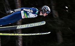 12.01.2014, Kulm, Bad Mitterndorf, AUT, FIS Ski Flug Weltcup, Erster Durchgang, im Bild Lukas Hlava (CZE) // Lukas Hlava (CZE) during the first round of FIS Ski Flying World Cup at the Kulm, Bad Mitterndorf, .Austria on 2014/01/12, EXPA Pictures © 2013, PhotoCredit: EXPA/ Erwin Scheriau