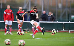 Chloe Arthur of Bristol City Women during warm-up - Mandatory by-line: Paul Knight/JMP - 30/09/2017 - FOOTBALL - Stoke Gifford Stadium - Bristol, England - Bristol City Women v Yeovil Town Ladies - FA Women's Super League 1