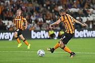 Kamil Grosicki of Hull City scores his sides 3rd goal during the Sky Bet Championship match at the KCOM Stadium, Hull<br /> Picture by Paul Chesterton/Focus Images Ltd +44 7904 640267<br /> 25/08/2017