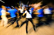 Salsa dancers on the Chan Chan Trail in Mayari, Holguin, Cuba.