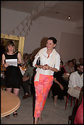 CHARLOTTE PHILLIPS;  Matt's Gallery 35th birthday fundraising supper.  42-44 Copperfield Road, London E3 4RR. 12 June 2014.