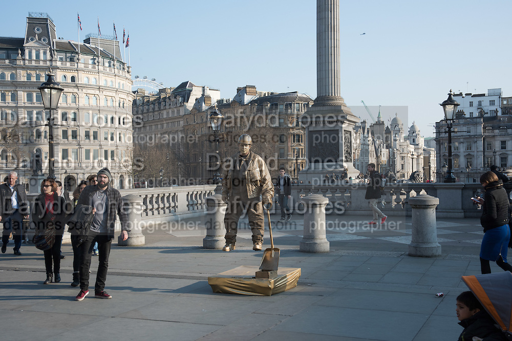 Yoda, Trafalgar sq. London. 17 March