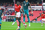Barnsley defender Bambo Diaby (5) in action during the EFL Sky Bet Championship match between Barnsley and Swansea City at Oakwell, Barnsley, England on 19 October 2019.