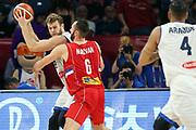 Nicolo Melli<br /> Nazionale Italiana Maschile Senior<br /> Eurobasket 2017 - Final Phase - 1/4 Finals<br /> Italia Serbia Italy Serbia<br /> FIP 2017<br /> Istanbul, 13/09/2017<br /> Foto M.Ceretti / Ciamillo - Castoria
