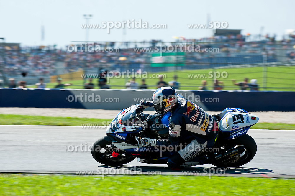 21.08.2011, Red Bull Ring, Spielberg, AUT, IDM Spielberg, im Bild Andreas Meklau, (AUT, IDM Superbike) in seinem letzten Rennen // during the IDM weekend on the Red Bull Circuit in Spielberg, 2011/08/21, EXPA Pictures © 2011, PhotoCredit: EXPA/ S. Zangrando