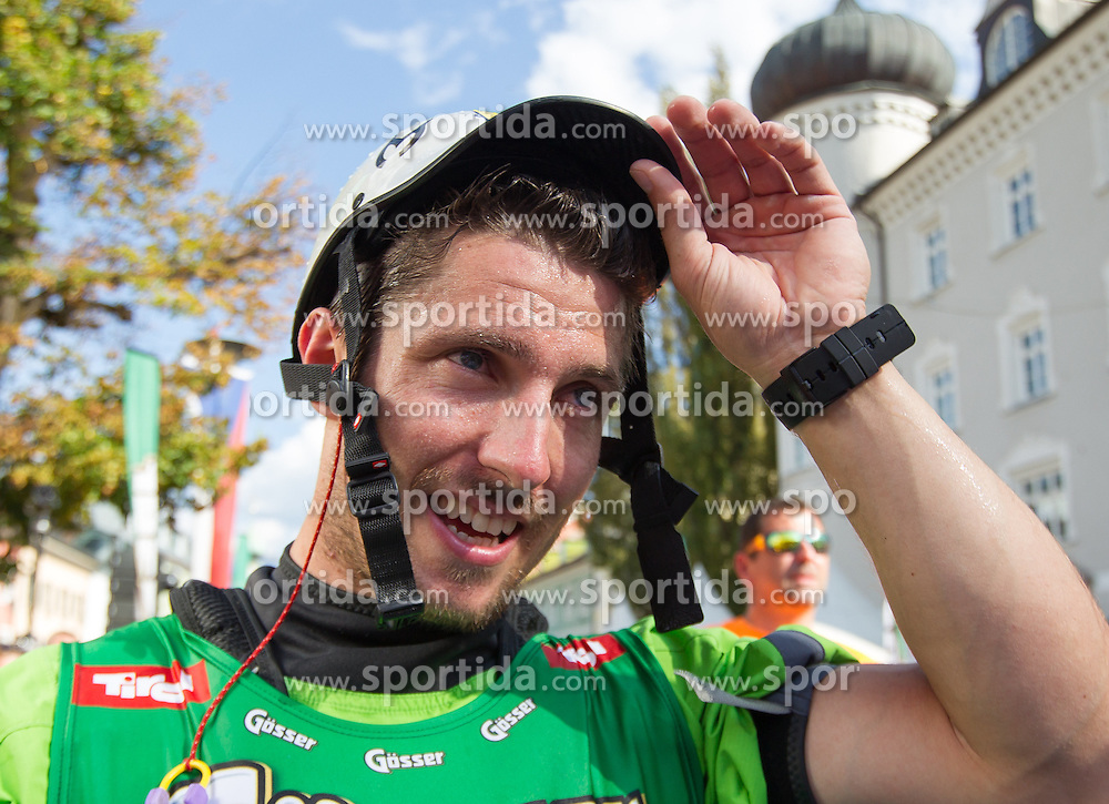 10.09.2016, Lienz, AUT, Red Bull Dolomitenmann 2016, Kajak, im Bild Marcel Hirscher (AUT, Kanute vom Team Wings for Life) // during the Kayak of the 2016 Red Bull Dolomitenmann at the Lienz, Austria on 2016/09/10. EXPA Pictures © 2016, PhotoCredit: EXPA/ Johann Groder