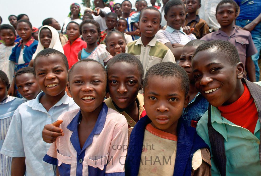 School children, Cameroon, Africa