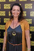 2019, June 29. Westergas, Amsterdam, the Netherlands. Isabelle Beernaert at the Kunstbende.