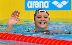15.08.2010, Budapest, Ungarn, HUN, Schwimmeuropameisterschaften, Budapest 2010, im Bild Katinka Hosszu (HUN) 200m butterfly gold medal.Swimming European Championships Budapest 2010 - Campionati Europei di Nuoto Budapest 2010.Swimming finals - Finali di nuoto.EXPA Pictures © 2010, PhotoCredit: EXPA/ InsideFoto/ Giorgio Perottino +++++ ATTENTION - FOR AUSTRIA AND SLOVENIA CLIENT ONLY +++++.