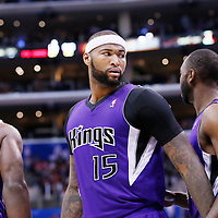 23 November 2013: Sacramento Kings center DeMarcus Cousins (15) is seen during the Los Angeles Clippers 103-102 victory over the Sacramento Kings at the Staples Center, Los Angeles, California, USA.