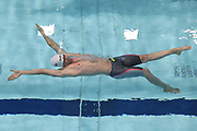 Maxence Orange (FRA) competes on Men's 100 m Backstroke during the Swimming European Championships Glasgow 2018, at Tollcross International Swimming Centre, in Glasgow, Great Britain, Day 4, on August 5, 2018 - Photo Stephane Kempinaire / KMSP / ProSportsImages / DPPI