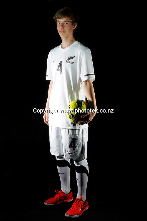 Jan FISCHER. Futsal Photo Shoot, North Harbour Stadium, Albany, Wednesday 19th September 2012. Photo: Shane Wenzlick