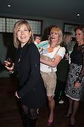 PENNY SMITH; RACHEL JOHNSON; CAROLINE MICHEL Party to celebrate the publication of 'Winter Games' by Rachel Johnson. the Draft House, Tower Bridge. London. 1 November 2012.