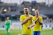 KIELCE, POLEN 2017-06-16<br /> Adam Lundqvist efter UEFA U21 matchen mellan Sverige och England p&aring; Arena Kielce den 16 juni, 2017.<br /> Foto: Nils Petter Nilsson/Ombrello<br /> Fri anv&auml;ndning f&ouml;r kunder som k&ouml;pt U21-paketet.<br /> Annars Betalbild.<br /> ***BETALBILD***