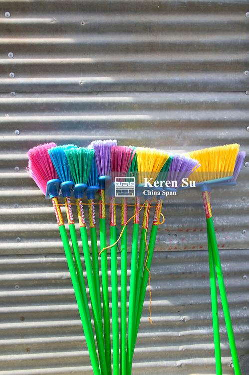 Colorful sweeps, Guatemala