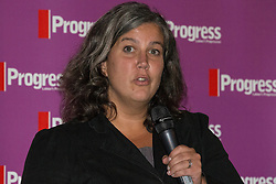 © Licensed to London News Pictures . 27/09/2015 . Brighton , UK . HEIDI ALEXANDER speaks at a Progress Rally fringe event at screen one of the Odeon Cinema on Brighton seafront , during the 2015 Labour Party Conference . Photo credit : Joel Goodman/LNP