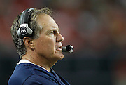 ATLANTA - AUGUST 19:  New England Patriots head coach Bill Belichick watches the action on the field during the preseason game against the Atlanta Falcons at the Georgia Dome on August 19, 2010 in Atlanta, Georgia.  The Patriots beat the Falcons 28-10.  (Photo by Mike Zarrilli/Getty Images)